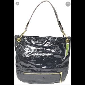 CLEAROUT orYany patent leather Lucy hobo bag